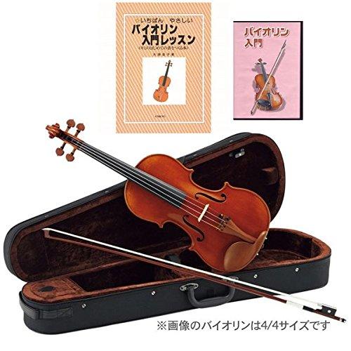 【教則本+DVD付7点セット】Carlo giordano VS-2 バイオリンセット サイズ:4/4 B01BQ9U472