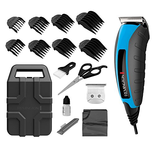 Remington Virtually Indestructible 15-Piece Clippers Kit, (Colors Vary) HC5850