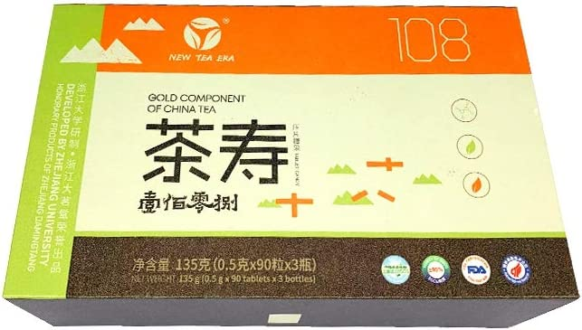 Gold Components of China Tea