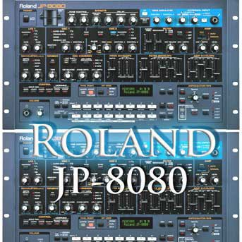 ROLAND JP-8080 – THE very Best of – Original Sound Library in WAVEs format on CD
