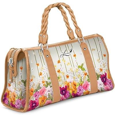 Handbag: Lena Liu The Garden Handbag by The Bradford Exchange