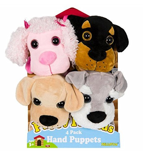 Puppy-Friends-Plush-Hand-Puppets-4-Pack