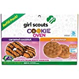 Girl Scout Cookie Oven Deluxe Refill Kit Caramel Coconut and Peanut Butter Sandwich