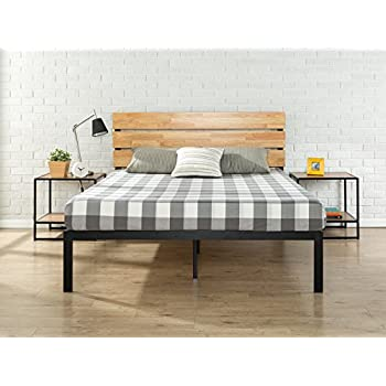 Amazon Com Fjellse Bed Frame Pine Kitchen Dining
