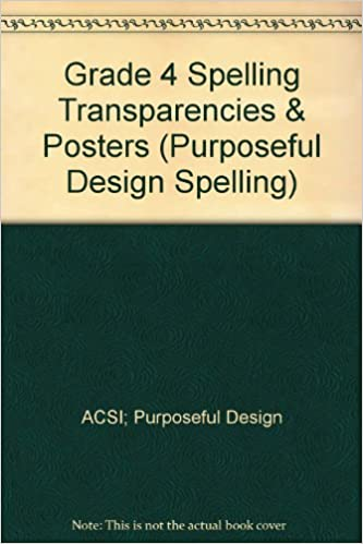 Amazon.com: Grade 4 Spelling Transparencies & Posters ...