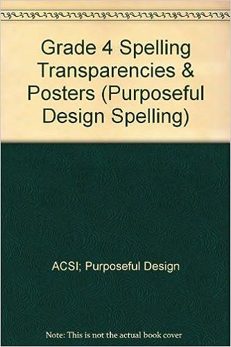 Amazon.com: Grade 4 Spelling Transparencies & Posters ...