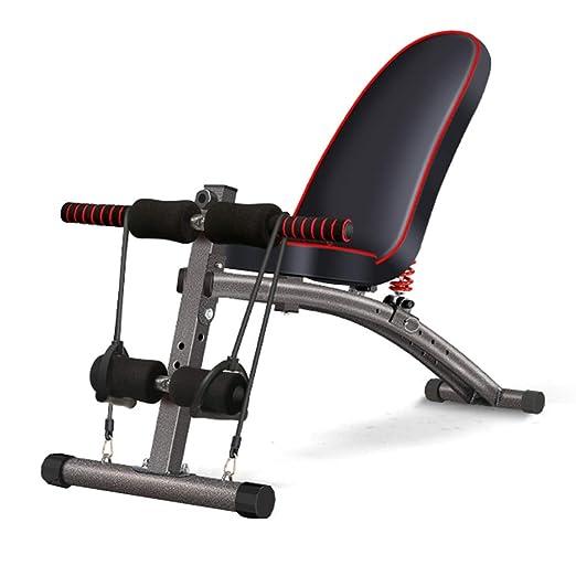 Banco de pesas de Interior Ejercicio Multifuncional Fitness ...