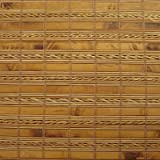 """Cordless Woven Wood Roman Shades, 58W x 48H, Sarasota Camel, Any size 20"""" to 72 wide and 24"""" to 72 High"""