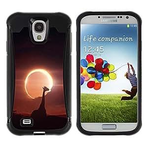 Paccase / Suave TPU GEL Caso Carcasa de Protección Funda para - Space Planet Galaxy Stars 52 - Samsung Galaxy S4 I9500
