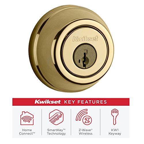 Kwikset Traditional Z Wave Smart Lock Deadbolt