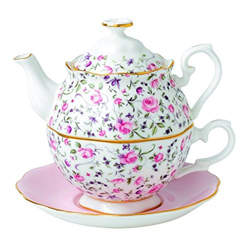 (Royal Albert Rose Confetti Tea For One)