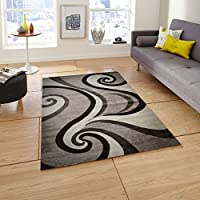 Msrugs Premium Quality Size 3 x 8 Feet Polypropylene Area Rug, Brown Beige