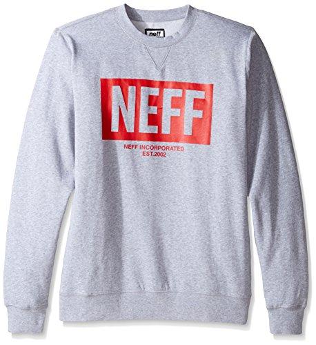New Nero Neff World Girocollo Crew Black Felpa FqdwxnO