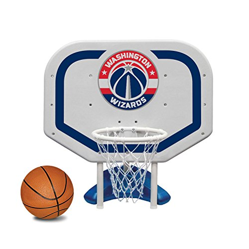 Poolmaster 72961 Washington Wizards NBA Pro Rebounder-Style Poolside Basketball Game