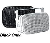 Poly-Planar MA-800-B 5x7.5'' Box Speaker Black 50W,