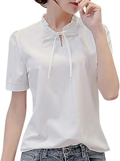 Oliviavan Camisetas de Mujer, Camiseta de Manga Corta de