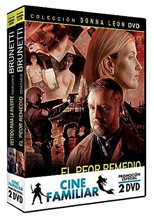 Pack Cine Familiar Vol. 1 - Comisario Brunetti [DVD]: Amazon.es ...