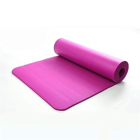 Amazon.com : DSFV NBR Foam Yoga Mats Non-Slip Gym Sport ...