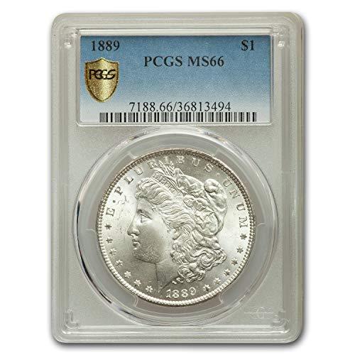 1889 Morgan Dollar MS-66 PCGS $1 MS-66 PCGS