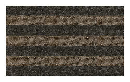 GrassWorx Clean Machine Patio Stripe Doormat for Double-Door