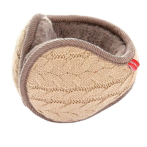 Winter Knit Ear Warmers for Women Foldable Unisex by Epsion