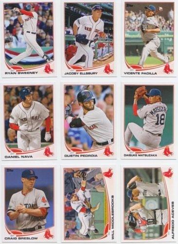 Boston Red Sox / Complete 2013 Topps Baseball Series 1 Team Set Topps 2013