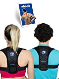 Back Posture Corrector for Women & Men - L/XL - Prevent and Improve Bad Back Pain, Slouching, Hunchback - Shoulders and Clavicle Support Brace - Comfortable Upper Back Correction - Best Relief