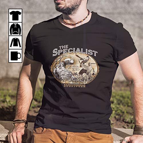Hunting english setter specialist T Shirt Long Sleeve Sweatshirt Hoodie Youth