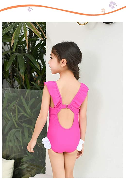d6517388be8 Amazon.com: Fribro Baby Swimsuit Children's Unicorn Bathing Suit Girl Cute  hot Spring Girl Swimsuit: Clothing