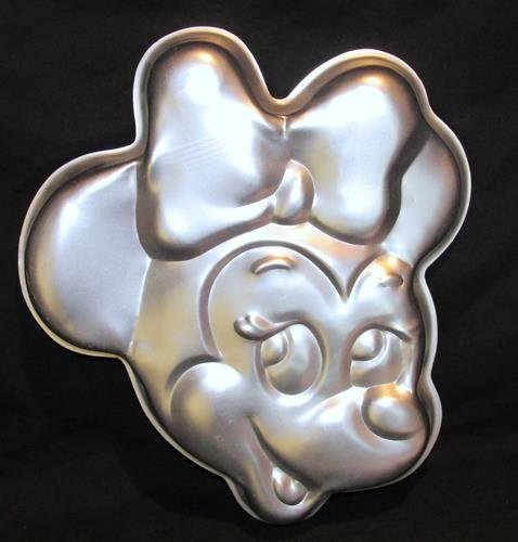 Minnie Mouse Face Walt Disney Wilton Cake Pan #515-809