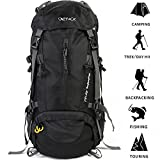 ONEPACK 50L(45+5) Hiking Backpack Daypack Waterproof Outdoor Sport Camping Fishing Travel Climbing Mountaineering Cycling