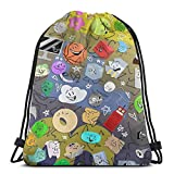 Battle For Bfdi Unisex Drawstring Backpack Casual