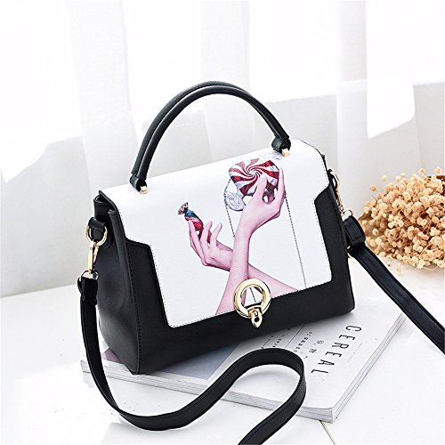 Bolso A1 Bolso CCZUIML Mini Bag D1 Inclinado señoras de Las de Hombro gwA4zOwq