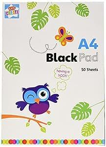 Anker, Kids Create - Cuaderno de colorear y manualidades, plástico y papel, tamaño A4, 50 páginas