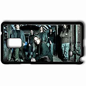 Personalized Samsung Note 4 Cell phone Case/Cover Skin Andre Matos Band Members Hair House Black