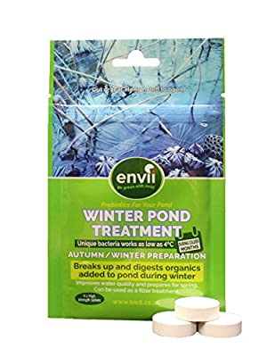Envii Winter Pond Treatment – Winter Pond Sludge and Algae Remover Pond Bacteria Treatment Works as Low As 40F