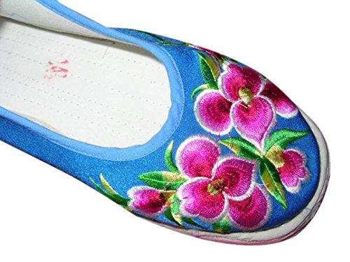 Ballerines Ethniques 120 Main Fait Chinoises 100 Femme Espadrille Chaussures x7FXqCwq