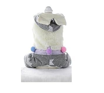 ShireyStore Ropa Creativa de Gatos Ropa para Perros y Gatos de Invierno Ropa para Mascotas de