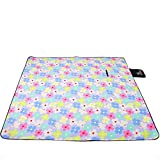 donfohy Moisture-proof pad picnic mat crawling mat tent mat folding suede increase thick waterproof mats outdoor
