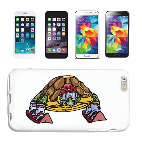 "cas de téléphone iPhone 7+ Plus ""TURTLE DRÔLE DANS DES PISTES TORTUES LANDSCHILDRÖTE TORTUES MARINES NINJA TORTUES D'EAU TORTUES TURTLE Nessaja"" Hard Case Cover Téléphone Covers Smart Cover pour Apple"