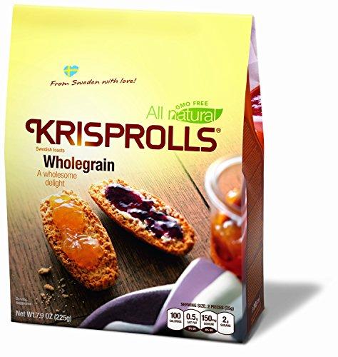 - Pagen Original Wholegrain Wheat Krisprolls, 7.9 Ounce