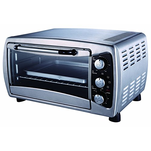 SPT 1000-1500 Watts Metal Stainless Countertop Convection Toaster Oven, Black SPT. Toaster And Convection Ovens