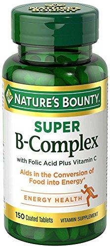 Nature's Bounty B Complex with Folic Acid Plus Vitamin C