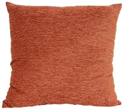 Brentwood 3438 Crown Chenille Floor Cushion, 24-Inch, Rust