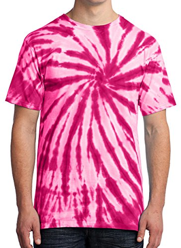 - GoldenGateTees Hippie Shirts Colorful Fun Pink Rainbow L