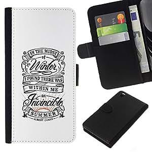 All Phone Most Case / Oferta Especial Cáscara Funda de cuero Monedero Cubierta de proteccion Caso / Wallet Case for HTC DESIRE 816 // Vintage Retro White Summer Inspiring