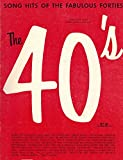 img - for The 40's (song Hits of the Fabulous Forties) book / textbook / text book