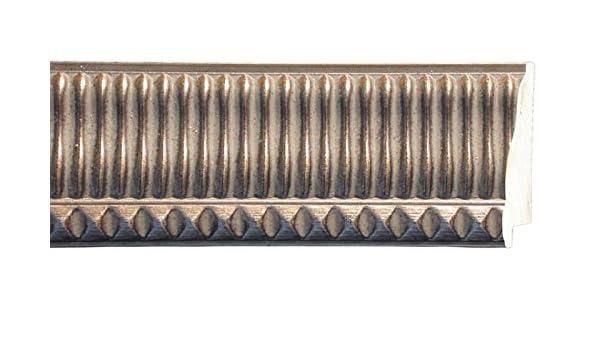 Wood 1.25 width 1//2 rabbet depth Picture Frame Moulding Contemporary Black Finish 18ft bundle