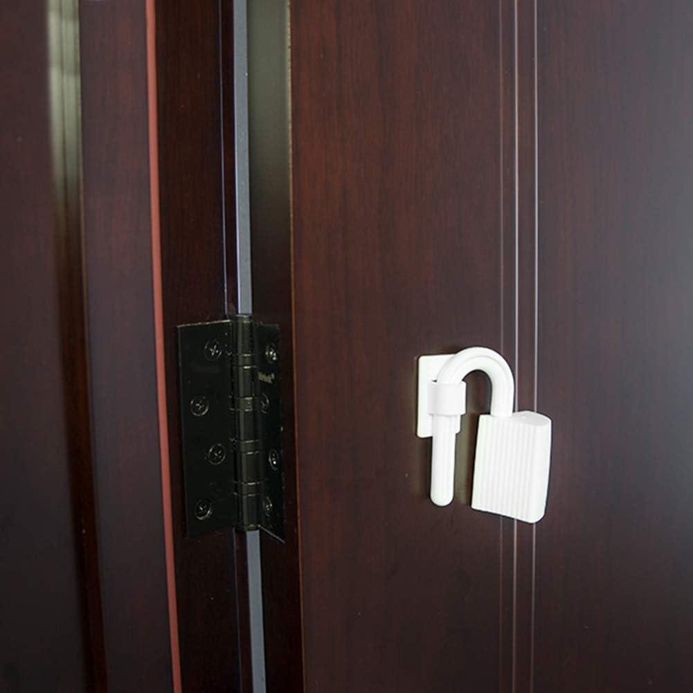 Verrouillage de Porte Enfant Anti-pincement B/éb/é//Enfant Doigt Mains Charni/ère de Porte en Plastique Pincement Garde Bouchon Rotatif de S/écurit/é