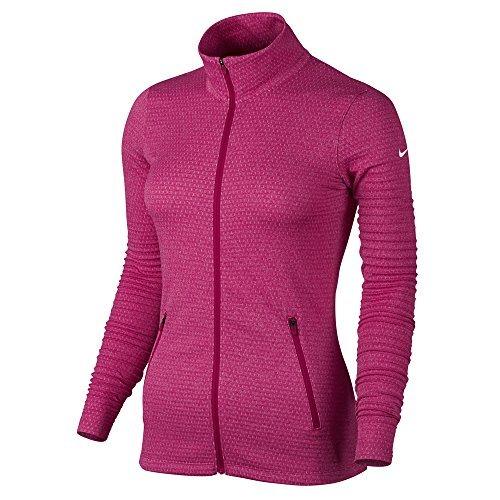 Nike Lucky Azalea Full Zip Golf Jacket 2017 Womens Sport Fuchsia/White X-Large by NIKE